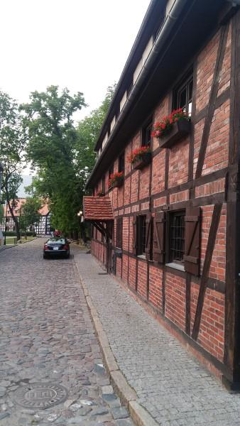 town mill in Bydgoszcz
