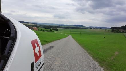 leaving the mühlviertel behind us