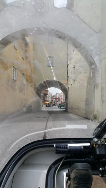 entering rattenberg