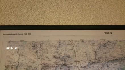 swiss maps for austria