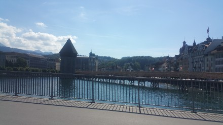lucerne, chapel bridge. been here since 1333