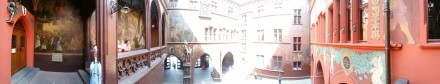 Basel Town Hall Pano