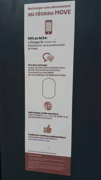 charging without a RFID