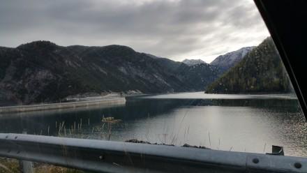 Lake Livigno & CH/IT border