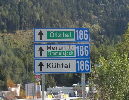 Entering the Ötztal