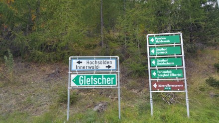Gletscher or BUST!