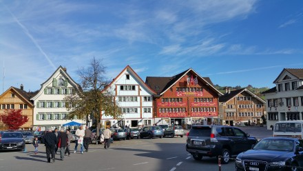 Appenzell main square - Landsgemeindeplatz