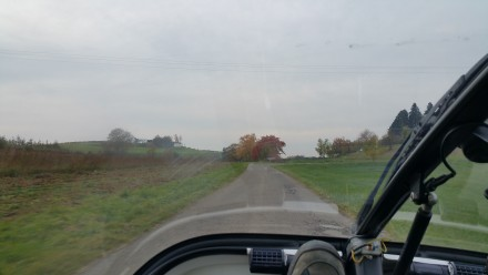 Nice single-lane roads outside Meersburg