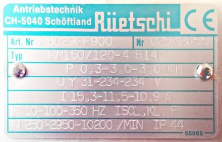 Technical details of a Ruetschi motor