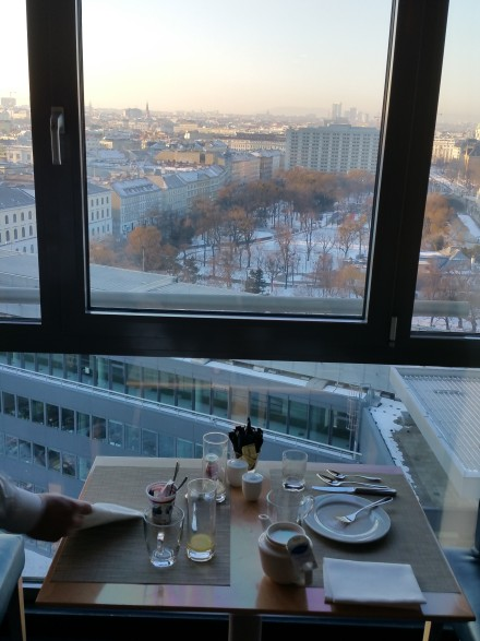 Breakfast...with a view!