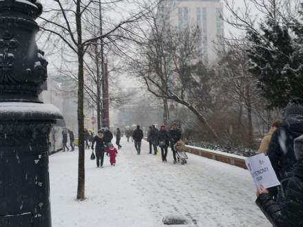 Snow, finally!