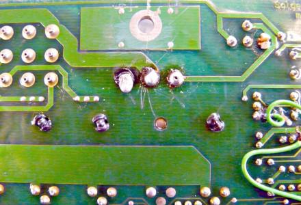 Molten solder