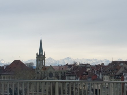 Berne & alps - beautiful!