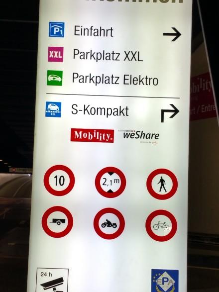 Always a good bet - Berne main train station parking