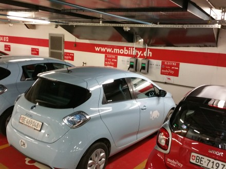 Electric car sharing