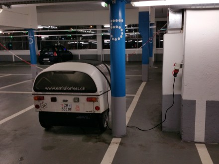 My secret 11kW charging point in Lausanne