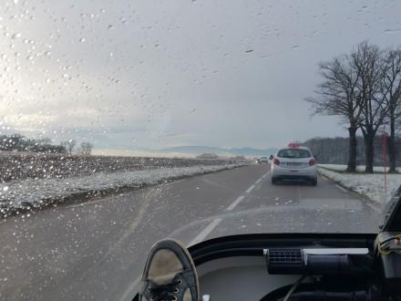 Driving towards Geneva