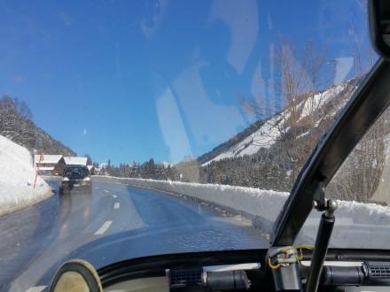 Heading towards Gstaad