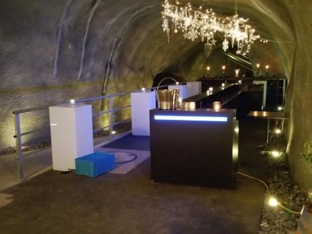 Nuclear bunker style bar
