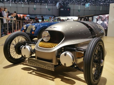 My second three-wheeler: Morgan EV