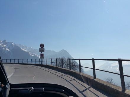 Very steep roads up to Malbun - very nice views