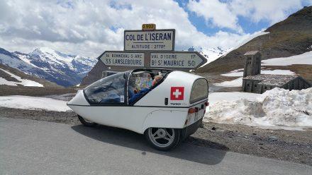 Col d'Iseran - very nice mountain pass