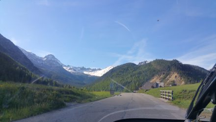 Col d'Izoard - an arena of white peaks