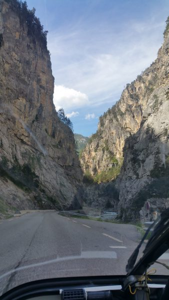 Descent from Col d'Izoard