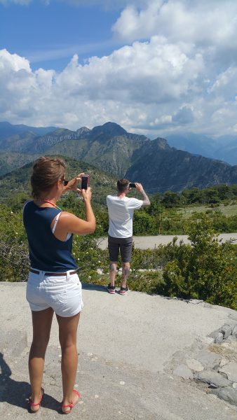 Taking the picture-taker's picture takers' picture