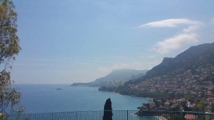 Monaco in the background