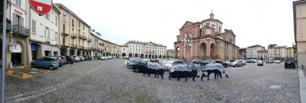 Voghera town center
