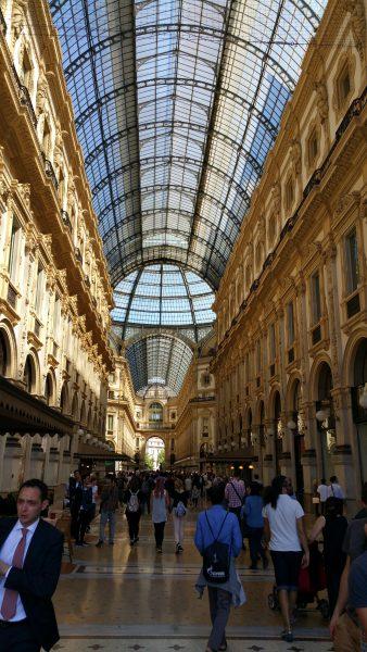 World famous Galleria Vittorio Emanuele II