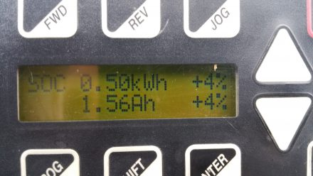 69 km to go = 7.2Wh/km :)
