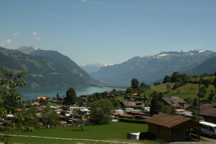 Lake Thun and Interlaken
