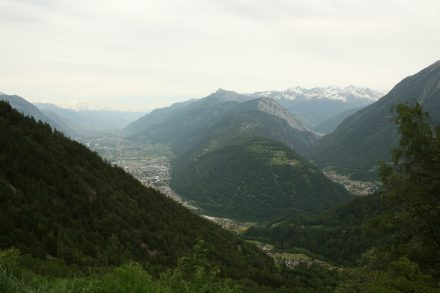 Lower Valais in the background