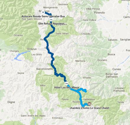 TDAF day 3 GPS track