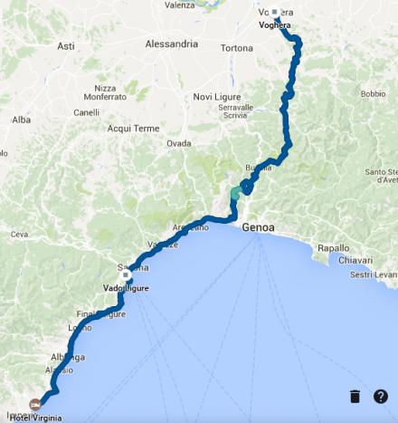 TDAF2016 - Day 7 GPS track