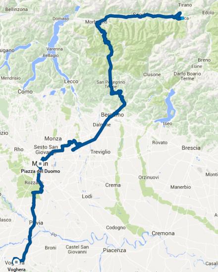 TDAF2016 - Day 8 GPS track