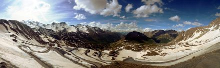 Col du Galibier - what a view!
