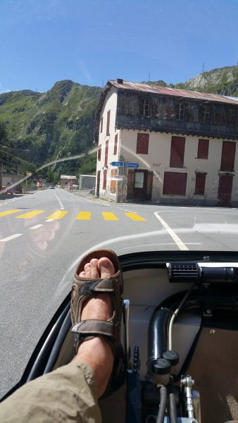 Decisions, decisions: Beautiful Valais valley or up to the Grimsel?