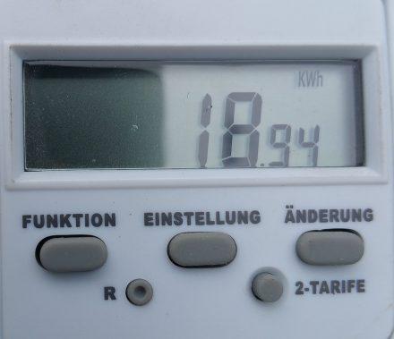 True energy consumption