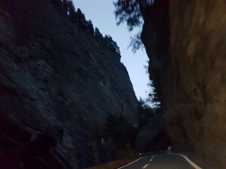 Via Mala gorge - dramatic views