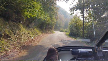 Sun on our way to San Pellegrino