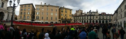 Brescia - medieval jousting tournament