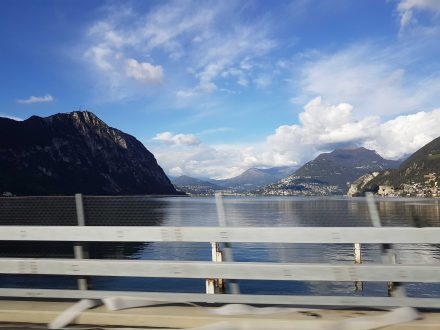 Lake Lugano, always worth a trip.