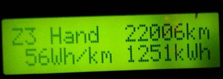 2016: 22k kms of electric motoring fun