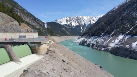 Hydro electric dam in need of some water!