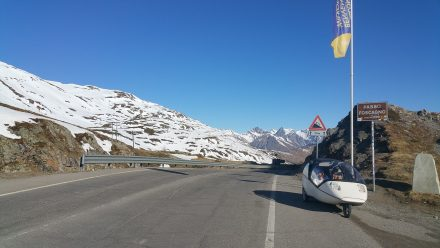 Our first pass for today - Passo Foscagno