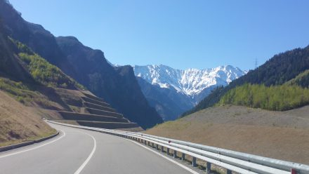 Driving towards Tirano ...cont