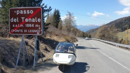 Another pass & back to 1884 m altitude